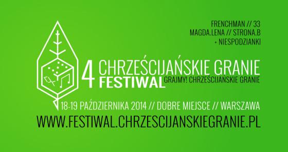 4. Festiwal Chrześcijańskie Granie banner