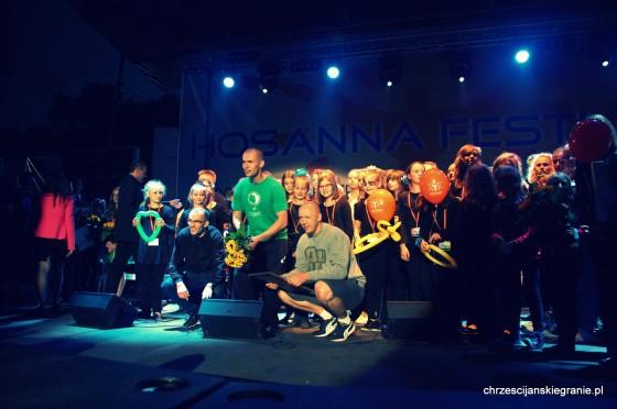 Hosanna Festival 2014  -wręczenie nagród