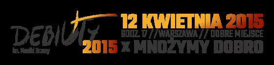 Debiuty 2015 logo