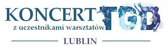 Baner koncertu TGD Lublin