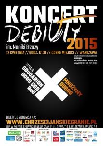 plakat_Debiuty_2015_logo_ostateczna