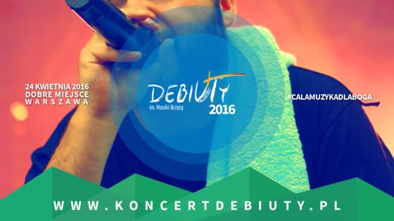 Koncert Debiuty 2016