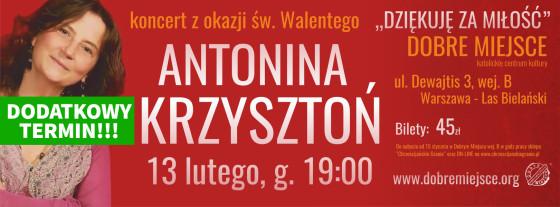Antonina Krzysztoń - Dobre Miejsce