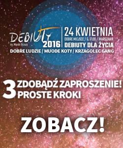 zaproszenia Debiuty 2016