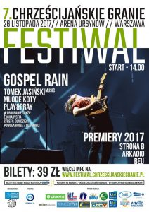 7. Festiwal Chrześcijańskie Granie - plakat