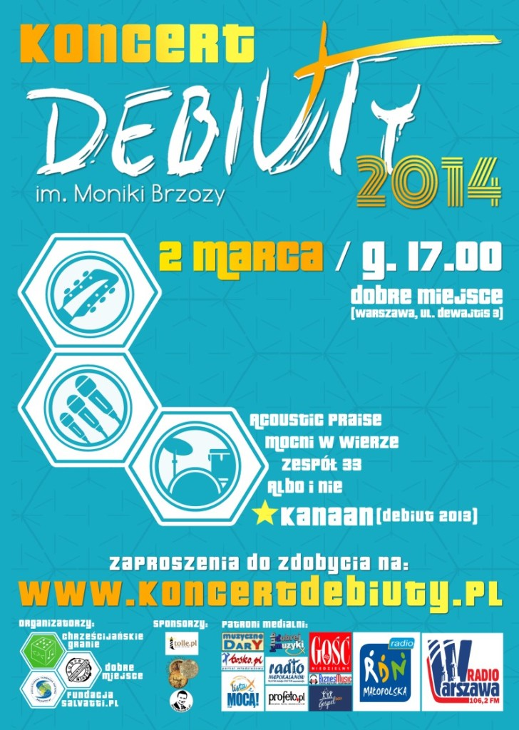 Program Koncertu Debiuty 2014