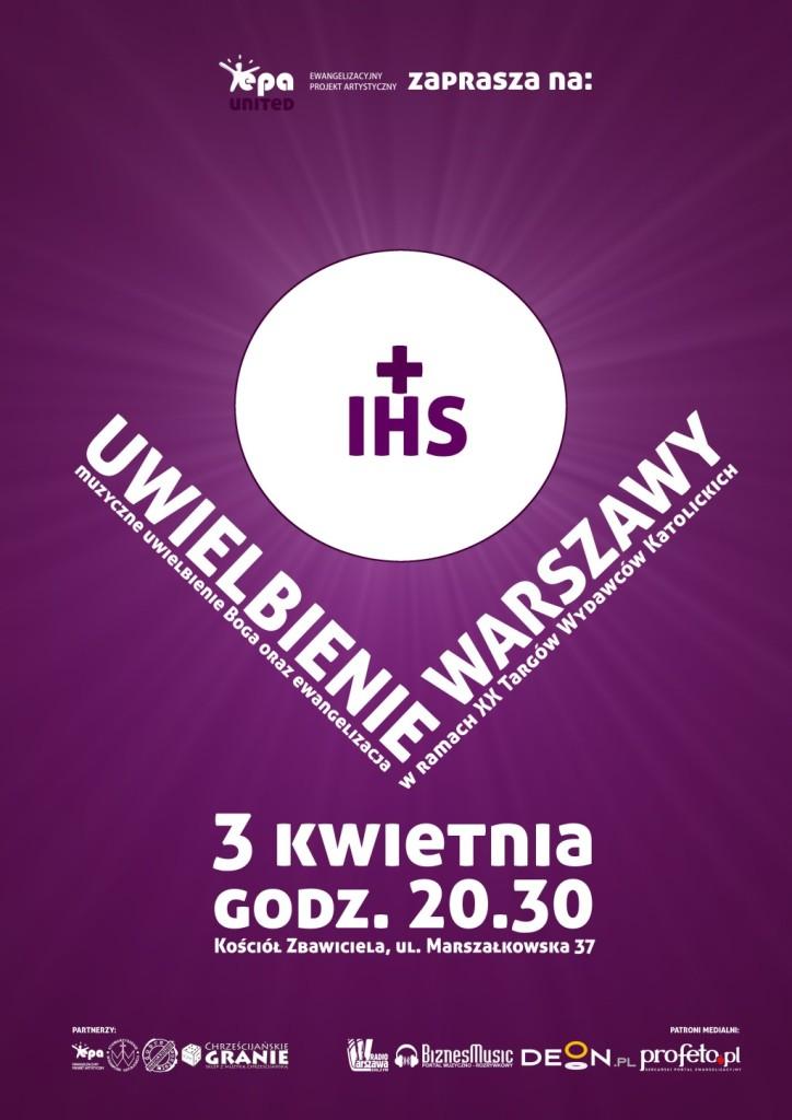 Uwielbienie Warszawy - 3 kwietnia 2014