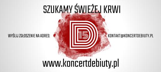 Koncert Debiuty 2015 - zgłoś zespół!