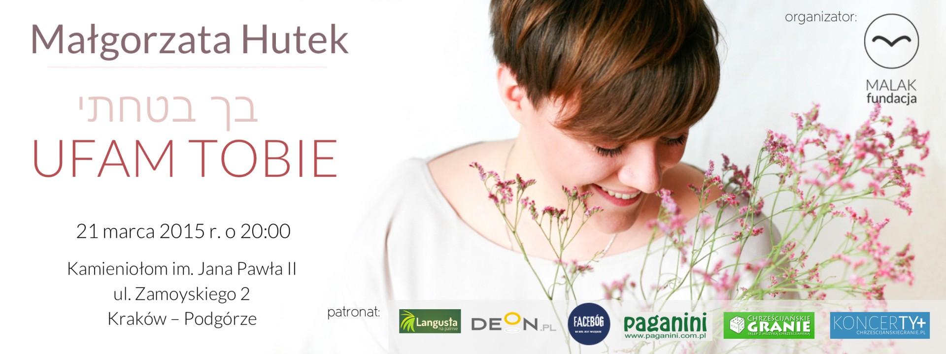 Małgorzata Hutek / Koncert w Krakowie