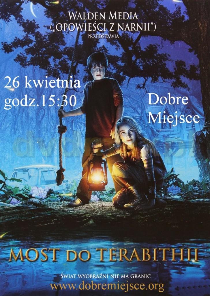 Most do Terabithii - Pokaz filmowy w Dobrym Miejscu