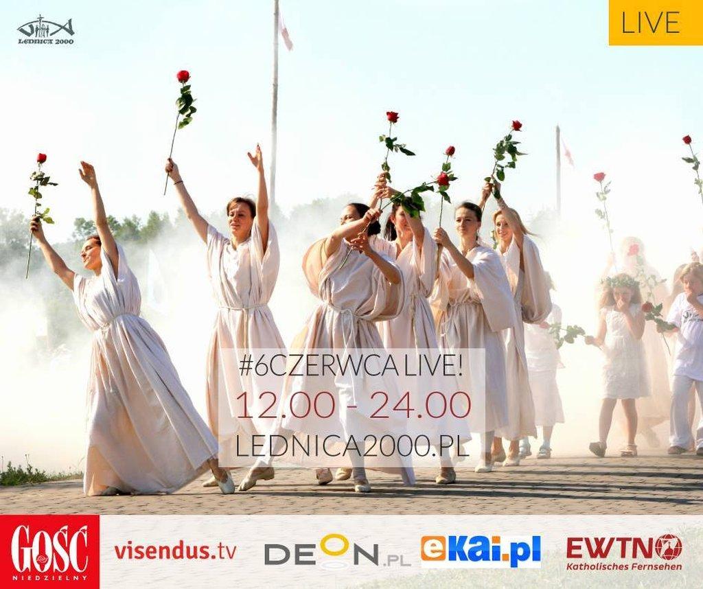 Lednica 2015 - transmisja LIVE
