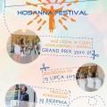 Hosanna Festival 2015 - plakat