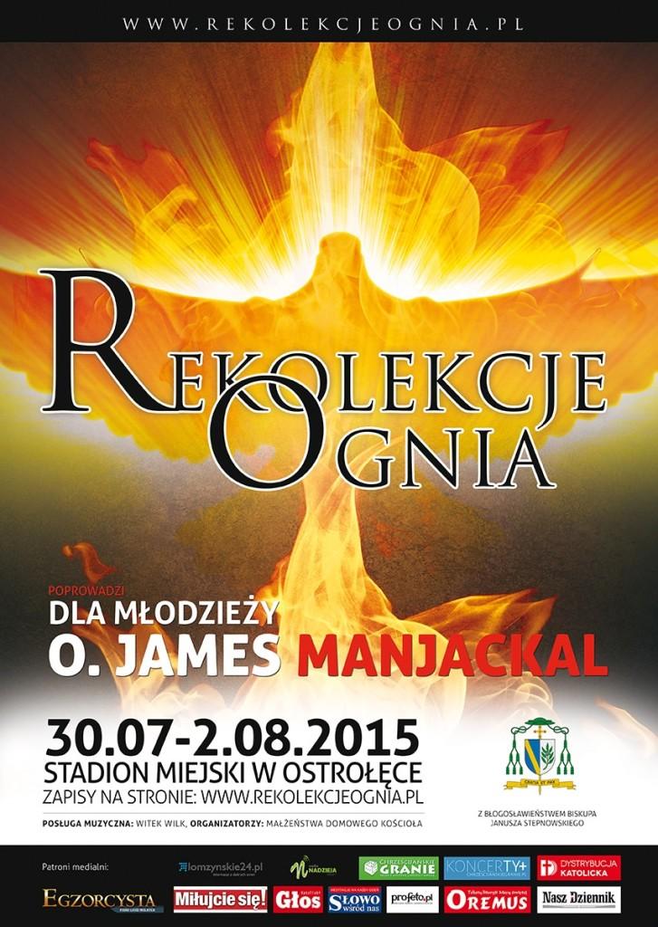 Rekolekcje Ognia 2015 - Ostrołęka