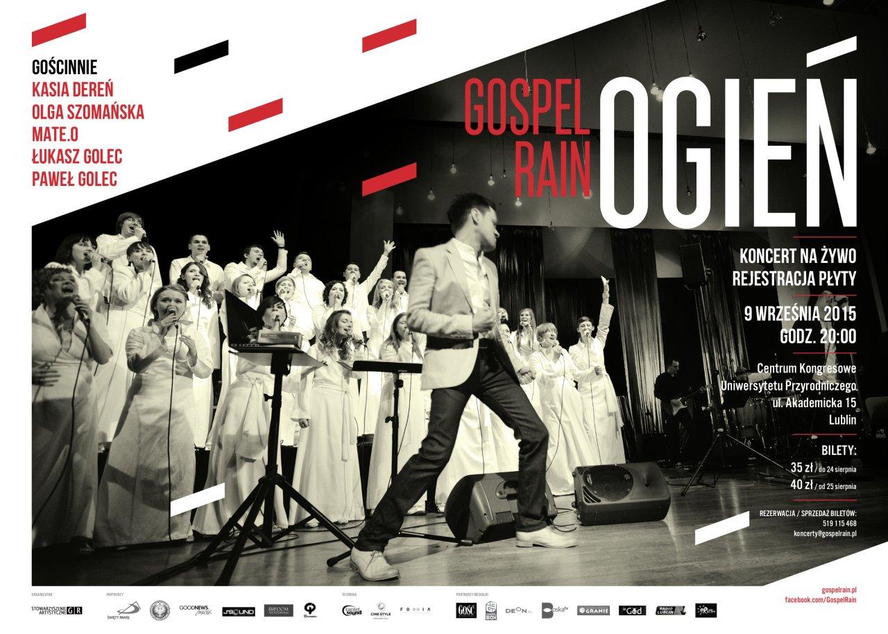 Gospel Rain - koncert Ogień