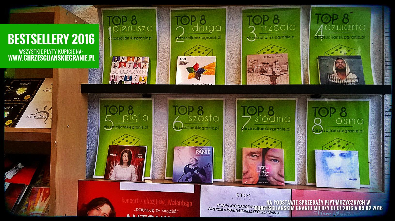 Bestsellery Chrześcijańskiego Grania 2016