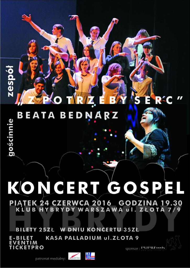 Koncert Gospel: Z potrzeby serc i Beata Bednarz!