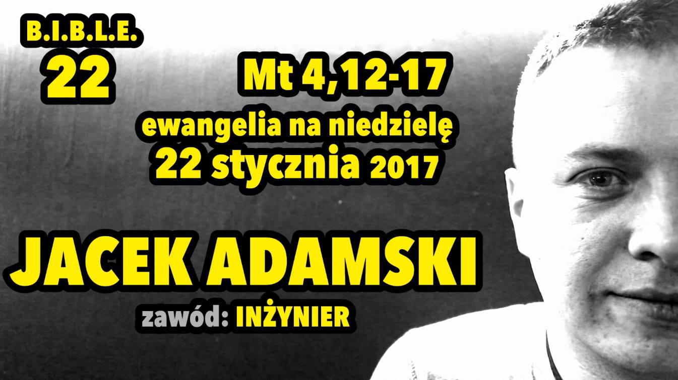 B.I.B.L.E - Jacek Adamski