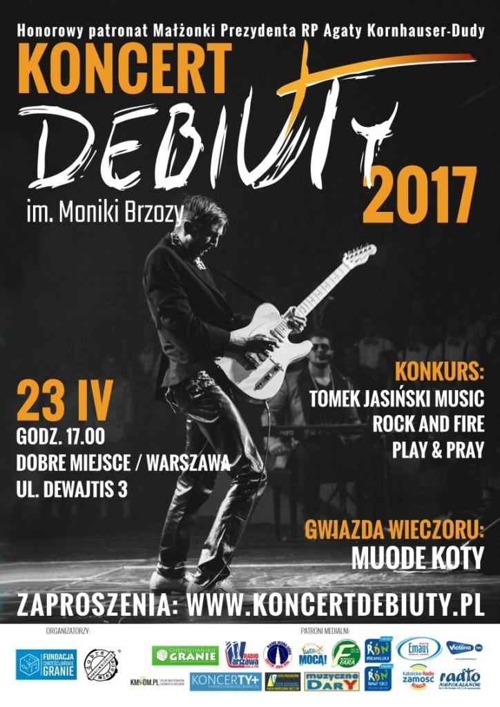 Koncert Debiuty 2017