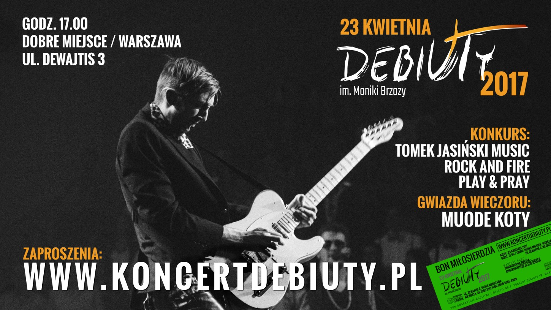 Debiuty 2017 - banner