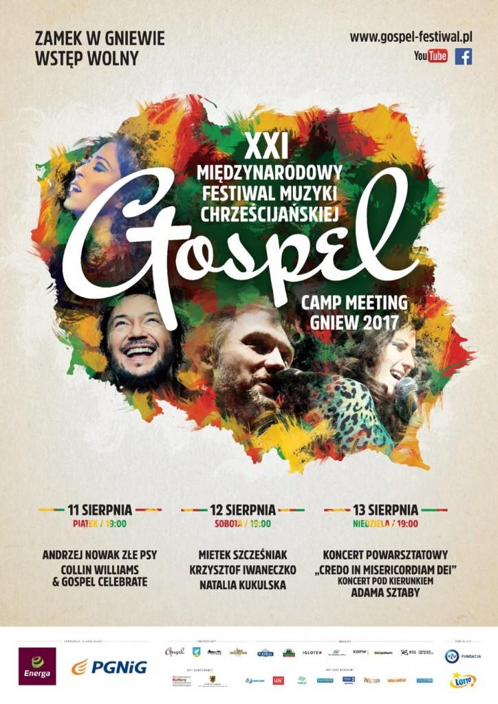 Gospel Festiwal 2017 Gniew