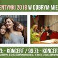 Walentynki 2018 Warszawa, Dobre Miejsce, koncert