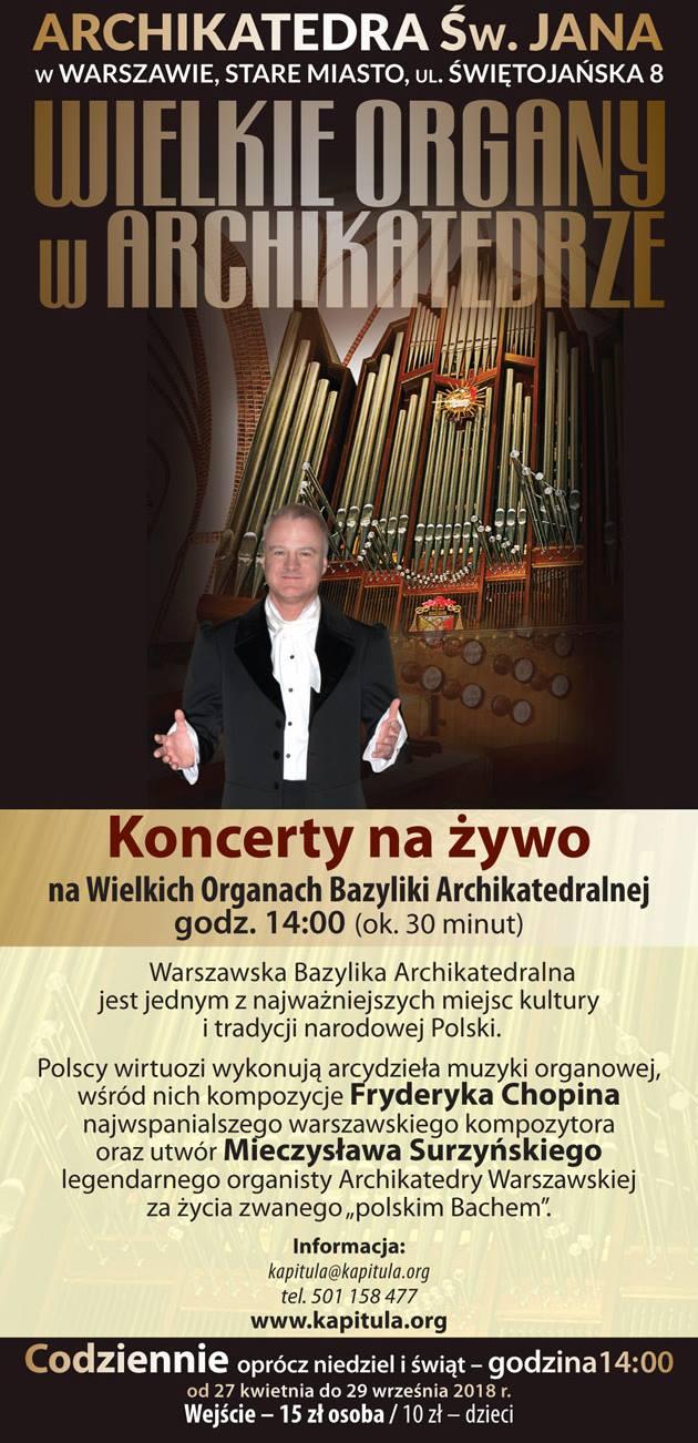 Wielkie Organy w Archikatedrze