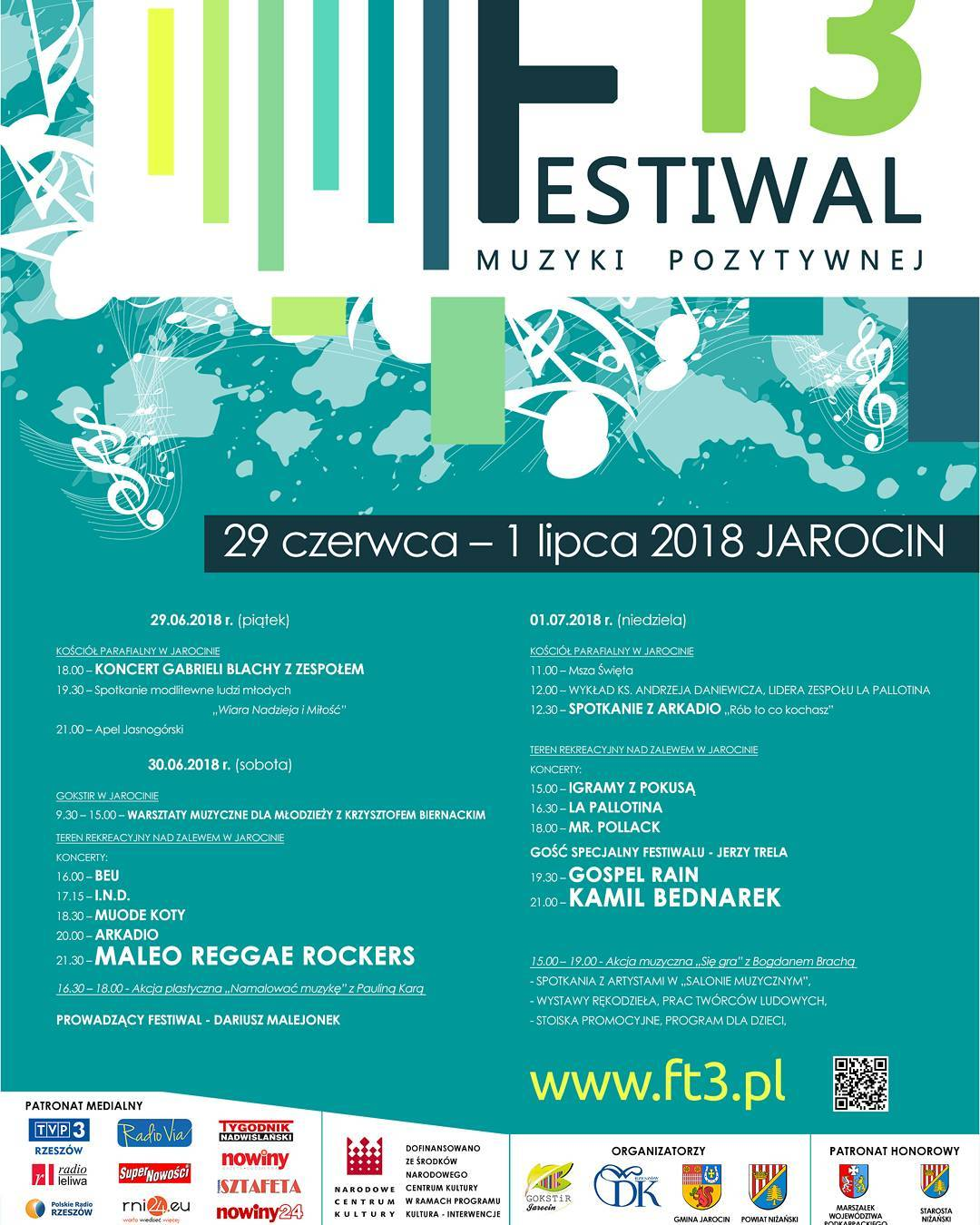 Festiwal Muzyki Pozytywnej T3