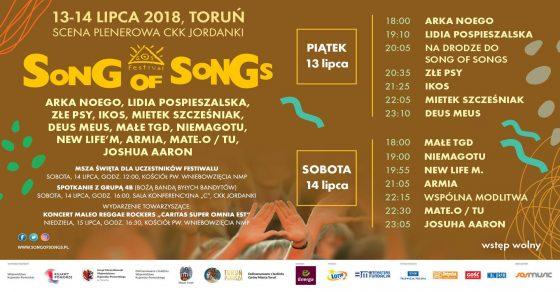 Song of Songs 2018 program
