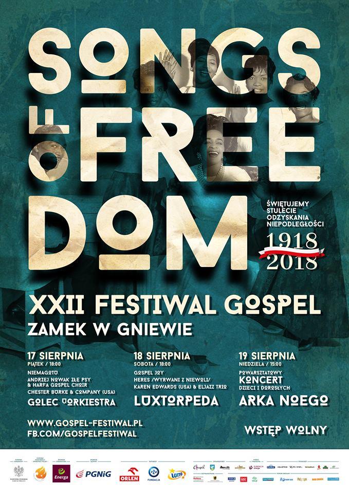 XXII Międzynarodowy Festiwal Gospel Gniew 2018