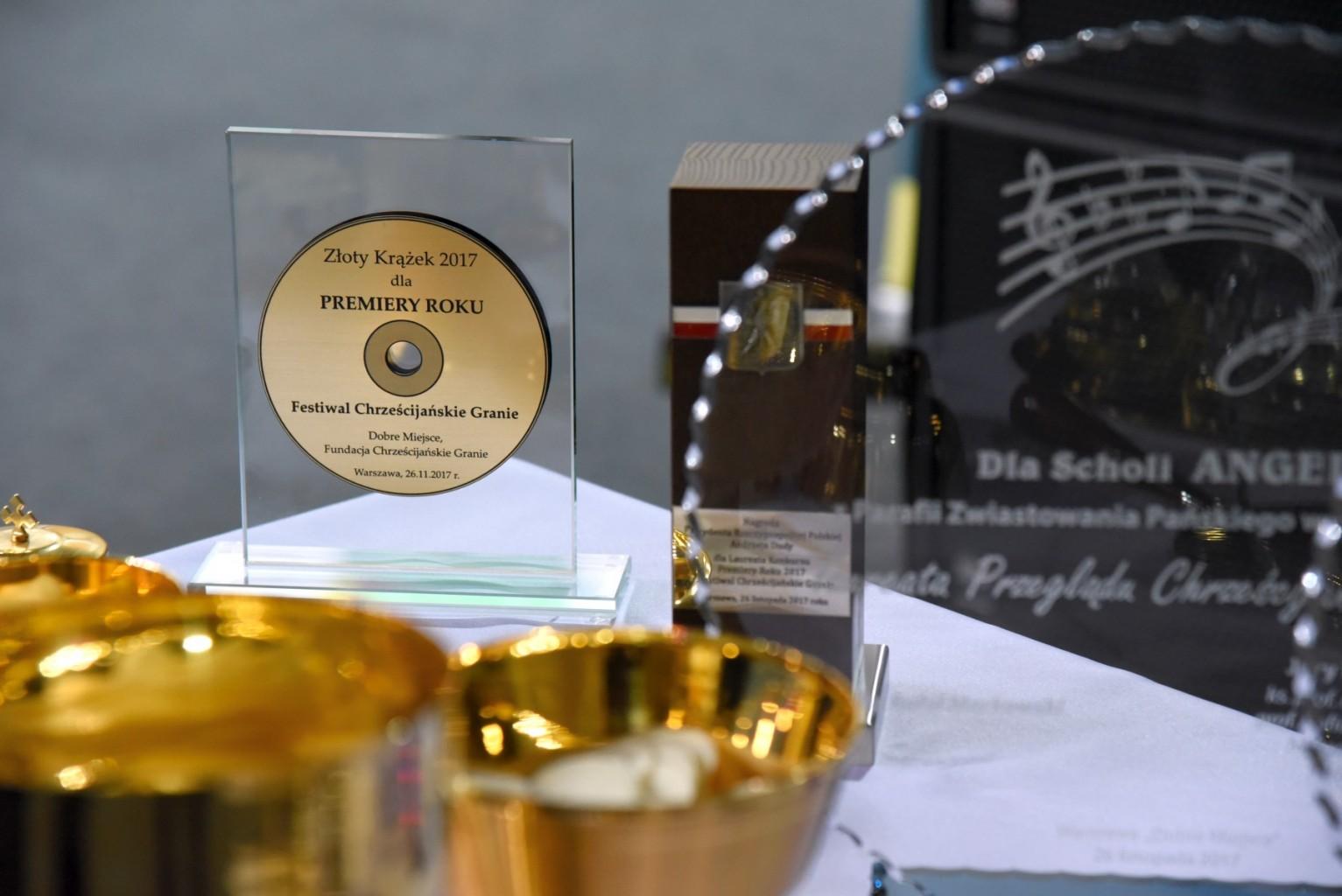 Festiwal Chrześcijańskie Granie - nagrody
