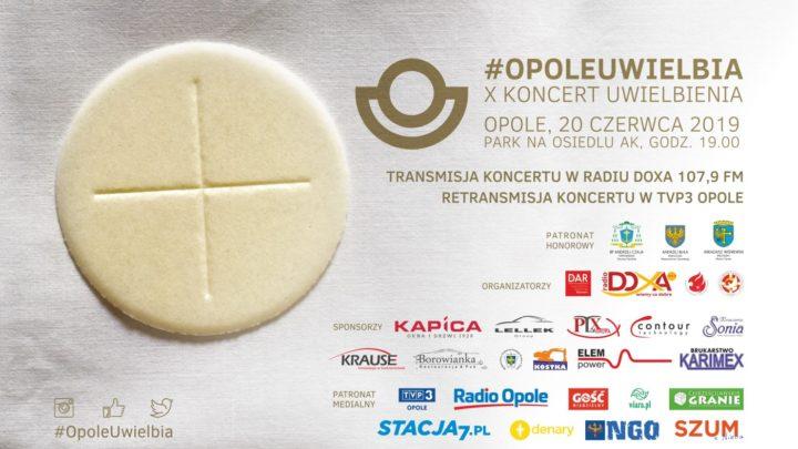 X Koncert Uwielbienia Boże Ciało 2019 Opole