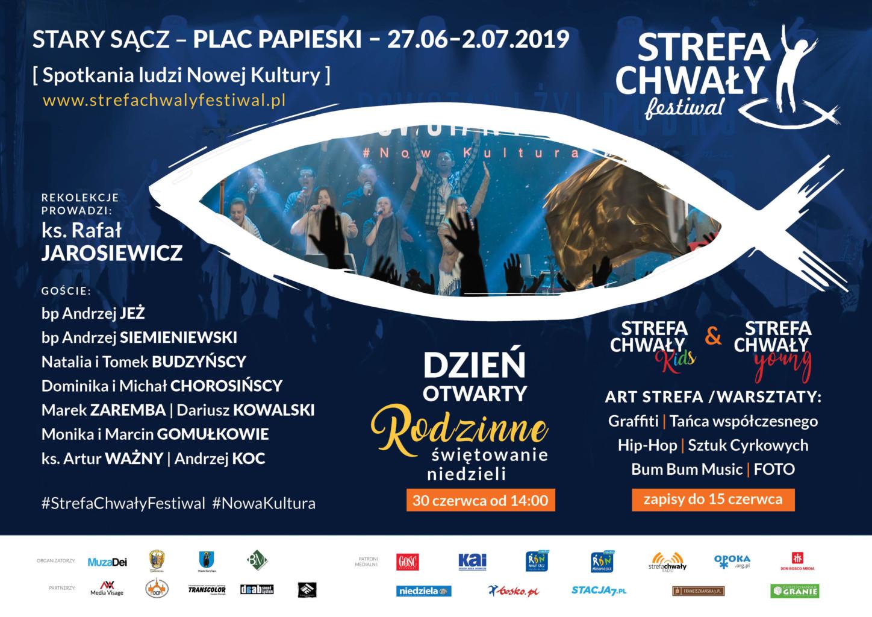 Strefa Chwały Festiwal 2019 plakat