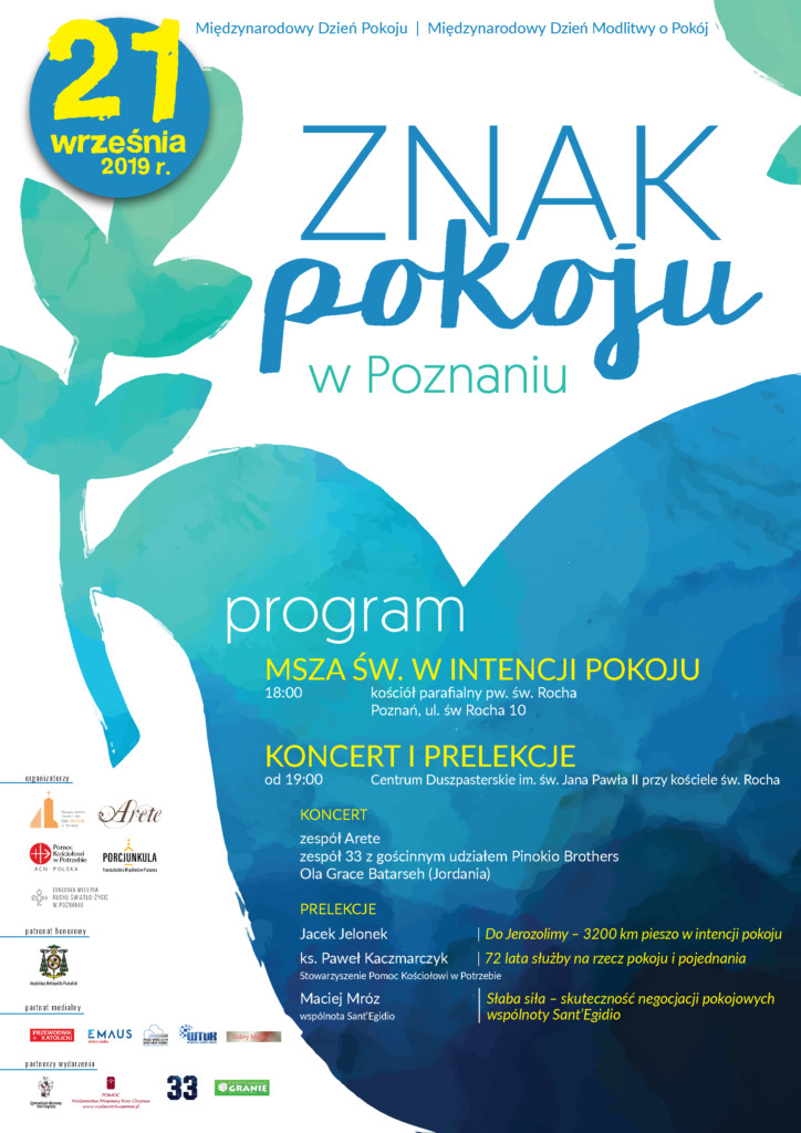 Znak Pokoju 2019 Poznań Arete
