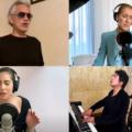 Andrea Bocielli, Lady Gaga, Celin Dion